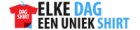 Logo van Elke dag een uniek shirt