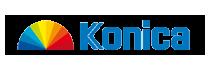 Logo van Konica