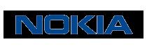 Logo van Nokia