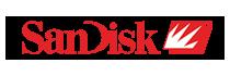 Logo van Sandisk